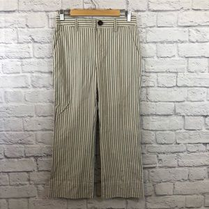 Cabi Size 2 Pants Style 5316 Cropped Striped